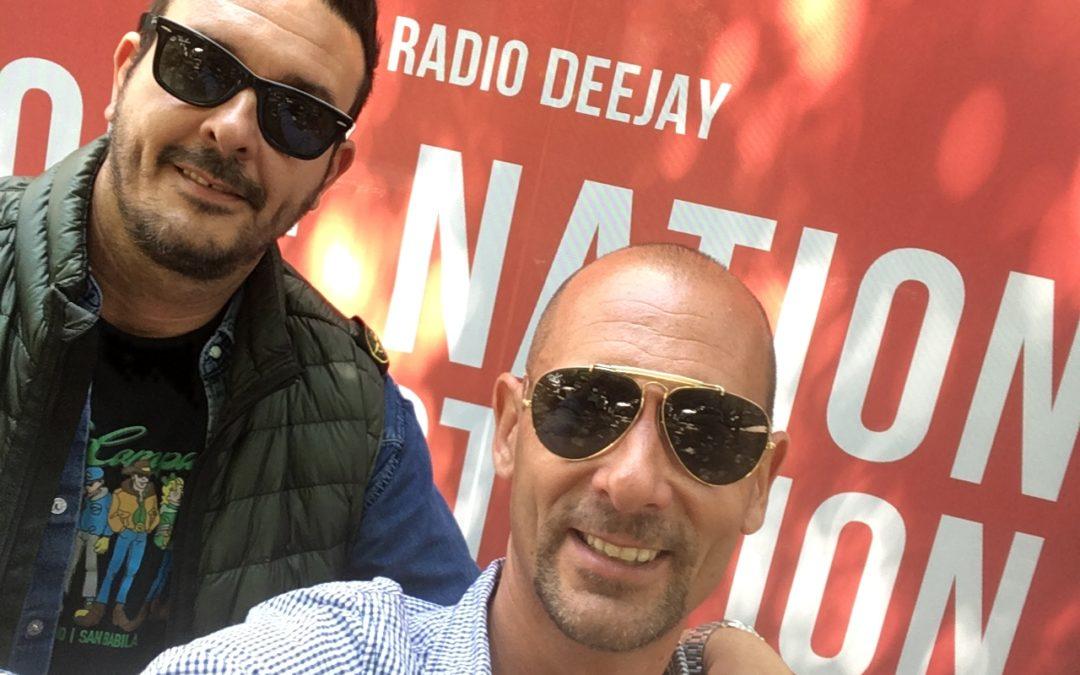 Mat a RADIO DEEJAY per parlare di Paninari